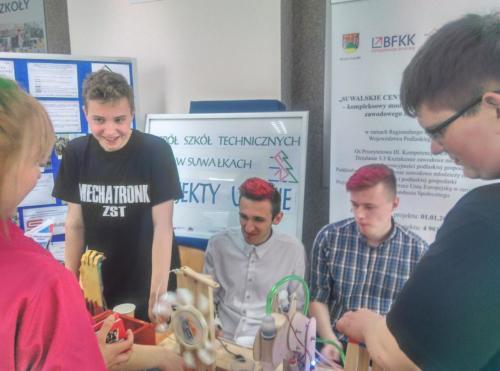 """Podsumowanie roku szkolnego w projekcie """"Suwalskie Centra Kompetencji Zawodowej"""""""