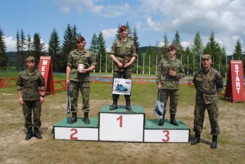 II Mistrzostwa Polski w Biathlonie letnim Służb Mundurowych