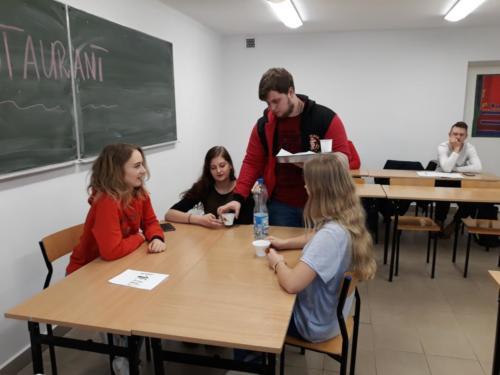 Zajęcia językowe przygotowujące do wyjazdu do Czech