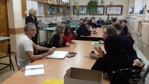 """Zajęcia pedagogiczne w ramach projektu """"Eurostażysta"""""""