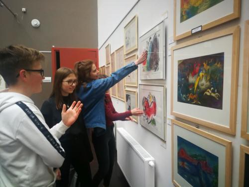 Grafiki Marca Chagalla