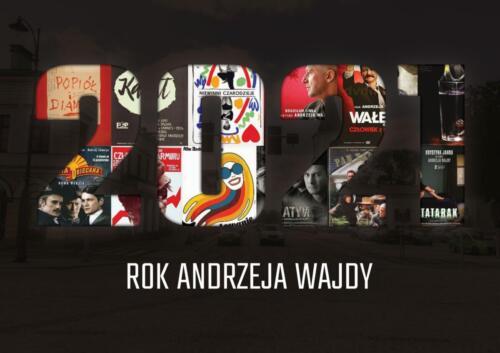 2021 Rokiem Andrzeja Wajdy - plakaty