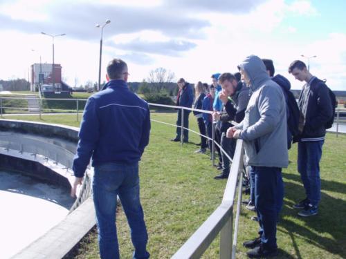 Światowy Dzień Wody - wizyta w oczyszczalni