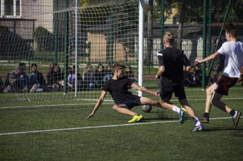 Mecz Maturzyści vs. Reszta szkoły - piłka nożna