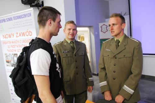 Spotkanie z przedstawicielami Wojskowej Akademii Technicznej w Warszawie