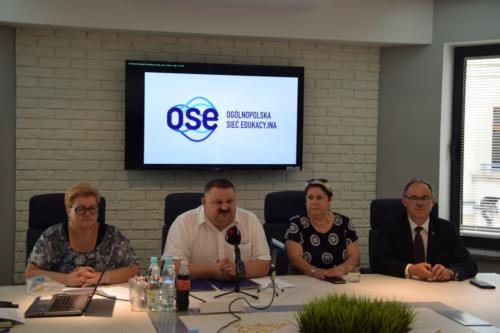 Podpisanie umowy OSE